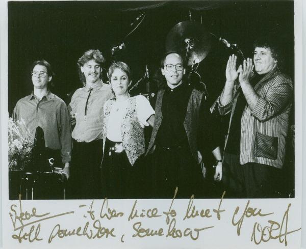 Steve McRay with Joan Baez