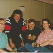 Joan tour-Jamie, Bob, Steve, Rick-600x494
