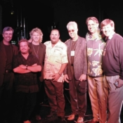 Charity group with Steve Cropper