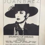 Joan tour poster
