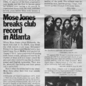 Mose club record