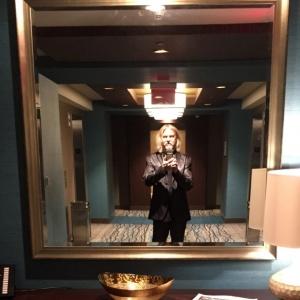 Reflective Steve in mirror