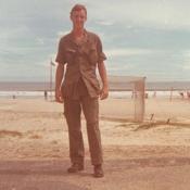 Steve Vietnam on beach