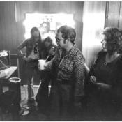 Steve w Elton at Richards