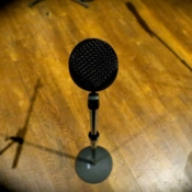 studio floor mic-Steve McRay Music