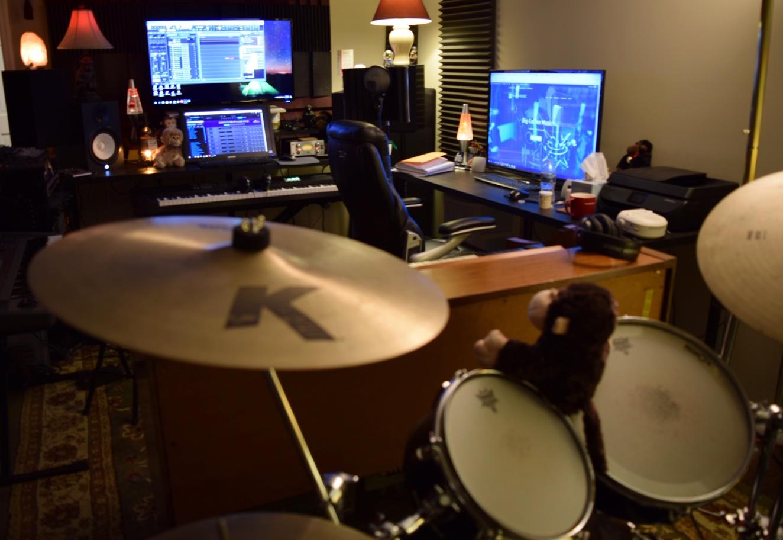 Steve McRay studio view